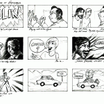 Comic King of Guatemala Storyboard 1